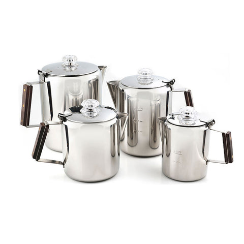 Timberline SS Coffee Percolator