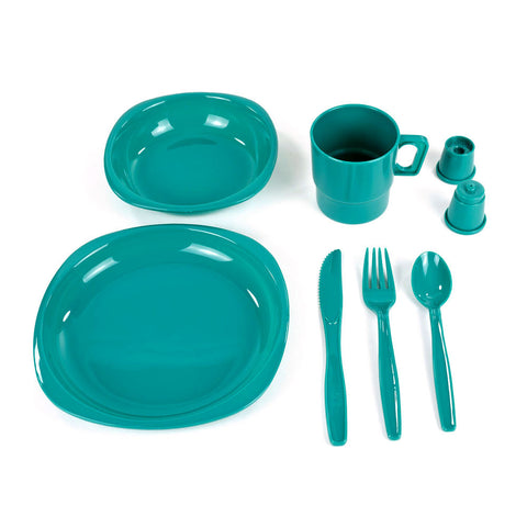 Camper Tableware Set - 4 Person Set