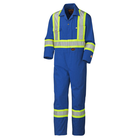 Pioneer Flame Resistant Cotton Safety Coverall