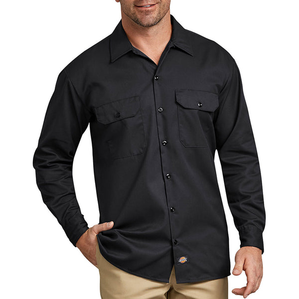 Dickies Long Sleeve Solid Work Shirt