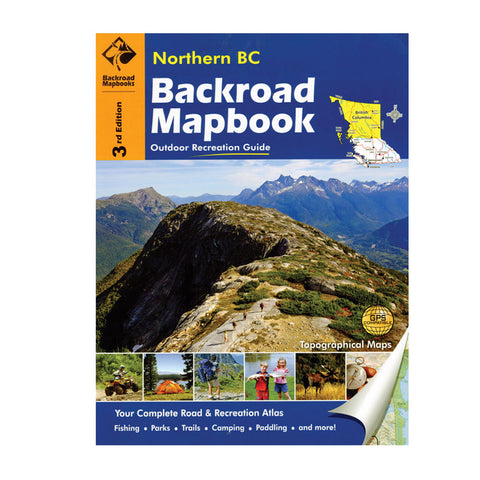 Northern BC Backroad Mapbook