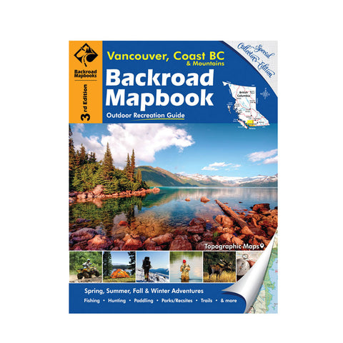 Vancouver Coast BC Backroad Mapbook