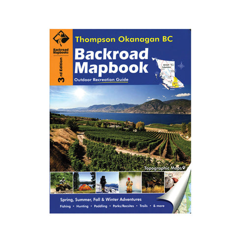 Thompson Okanagan BC Backroad Mapbook