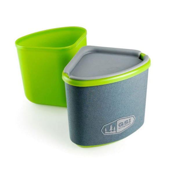 GSI Outdoors Gourmet Nesting Mug + Bowl
