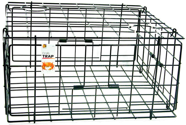 "Pacific Traps 24"" Folding Steel Crab Trap (no clips or top hatch)"