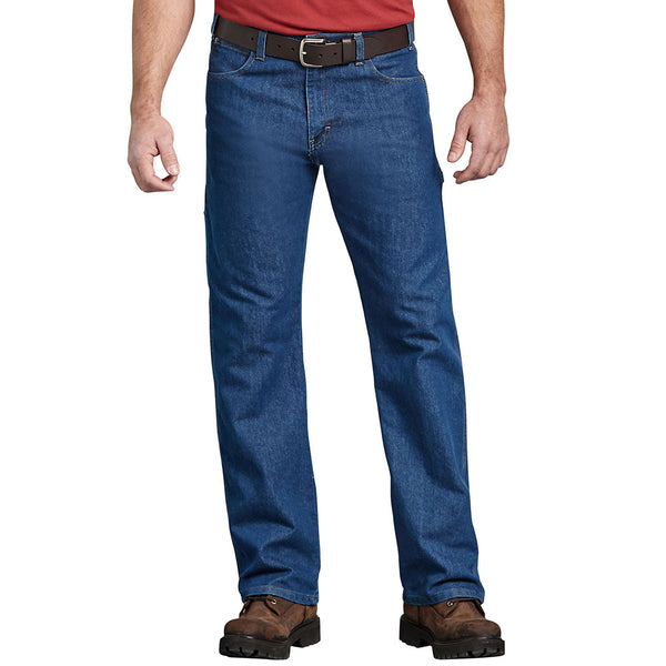 FLEX Relaxed Fit Straight Leg 5-Pocket Carpenter Tough Max™ Denim Jeans