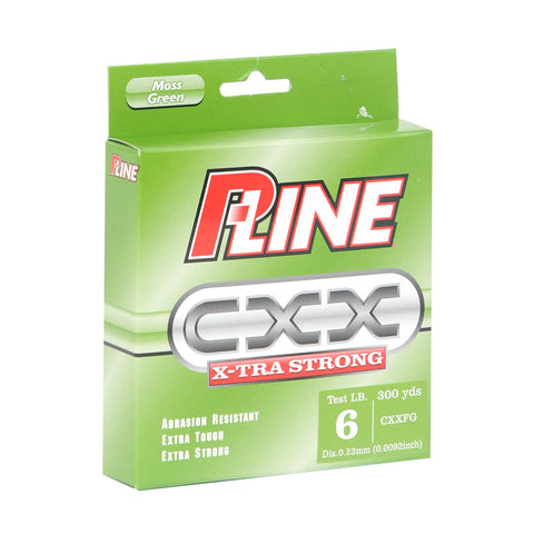P-Line CXX X-TRA Strong  Line - Moss Green