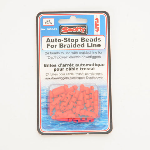 Scotty 24 Pack Auto-Stop Beads