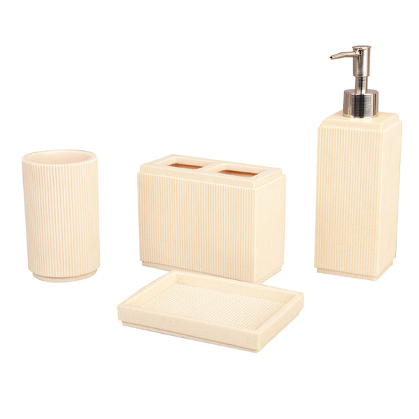 Natural Resin Bathroom Collection