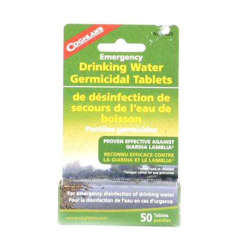 Coghlan's Emergency Germicidal Drinking Water Tablets