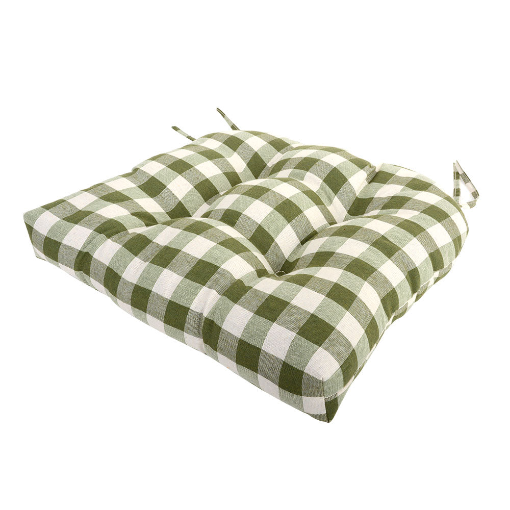 Mini Check Chair Pad