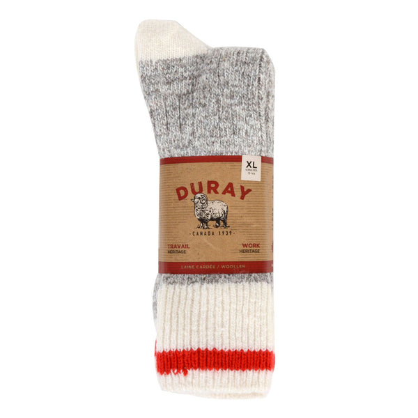 3pk Grey Heather Socks