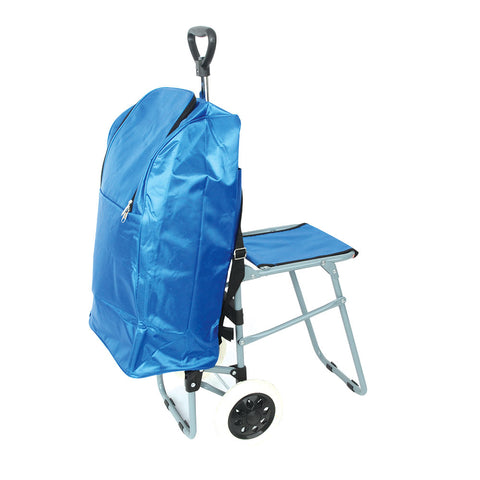 Insulated Shopper with Chair