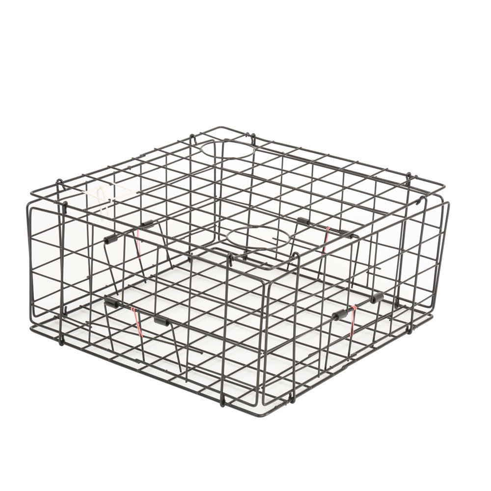 "Pacific 24"" Folding Steel Crab Trap (no clips or top hatch)"