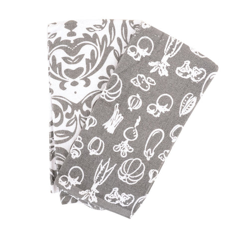 Veggie 2pk Kitchen Towel Set