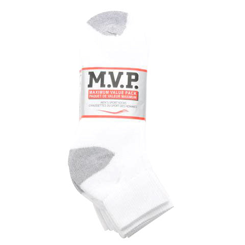 6 Pack Athletic Ankle Sock