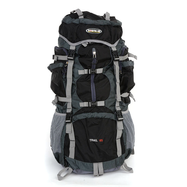 N49 Trail 65L Internal Frame Pack - Black/Grey