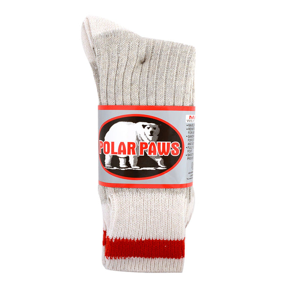 3pk Polar Paws Work Socks 9-11