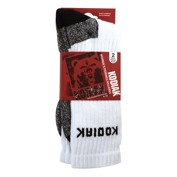 2pk Kodiak Work Socks 4-10