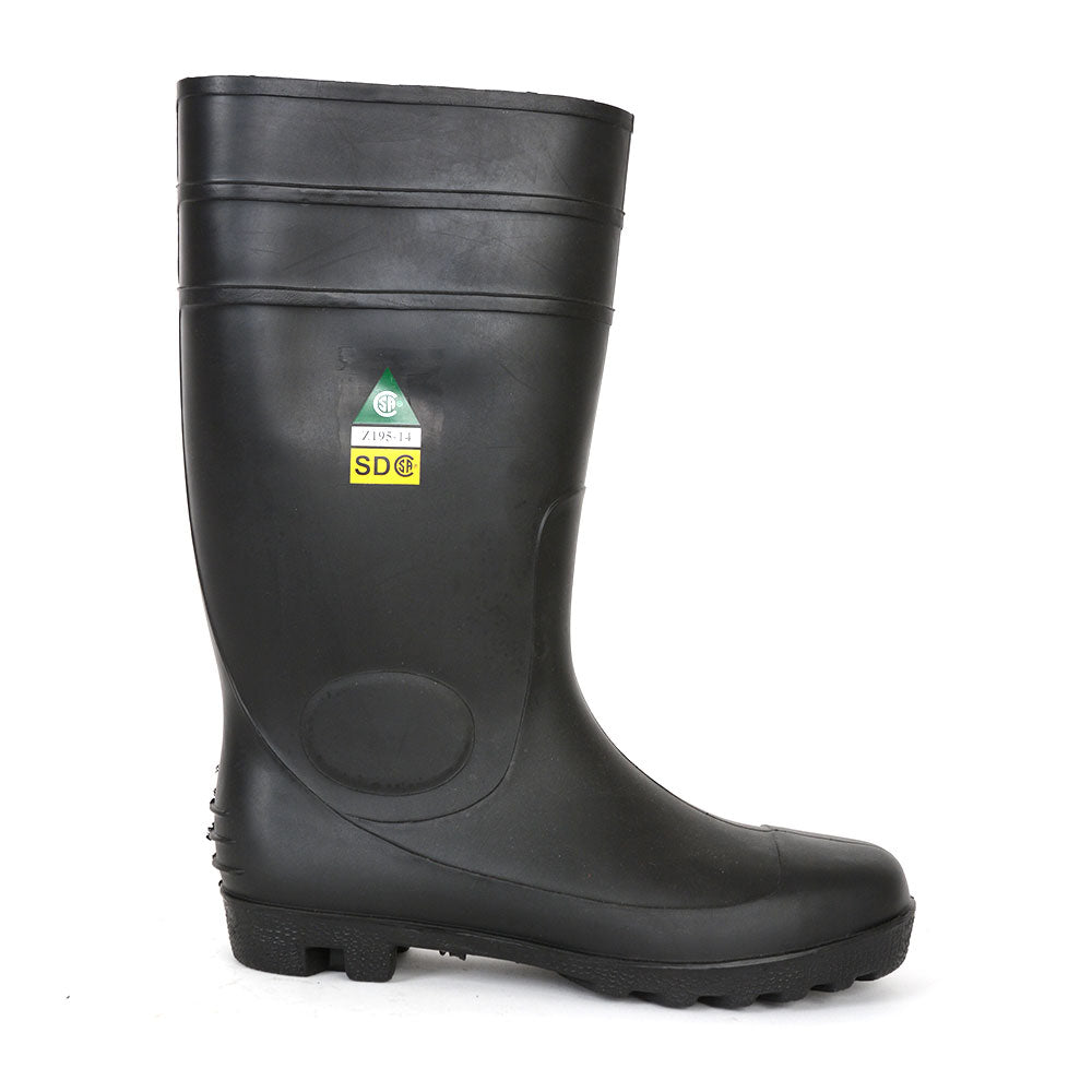 Pioneer PVC Steel Toe/Plate Boot