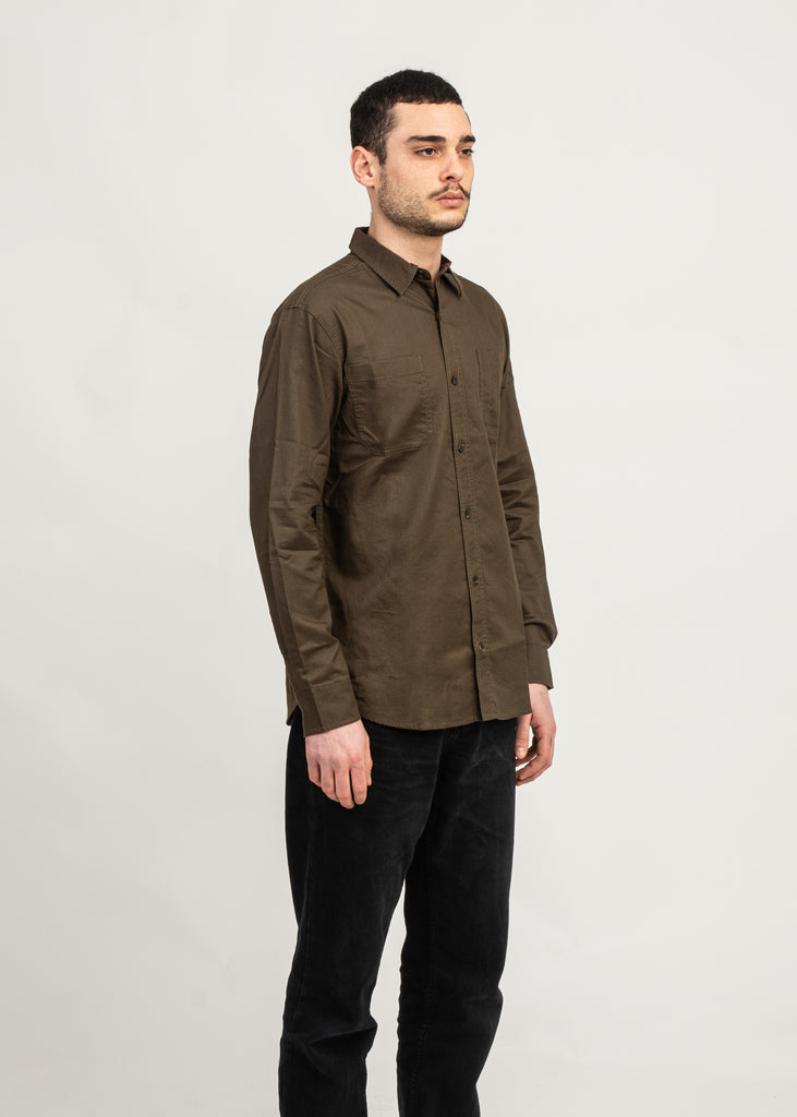 Dickies Relaxed Fit Icon Long Sleeve Solid Shirt