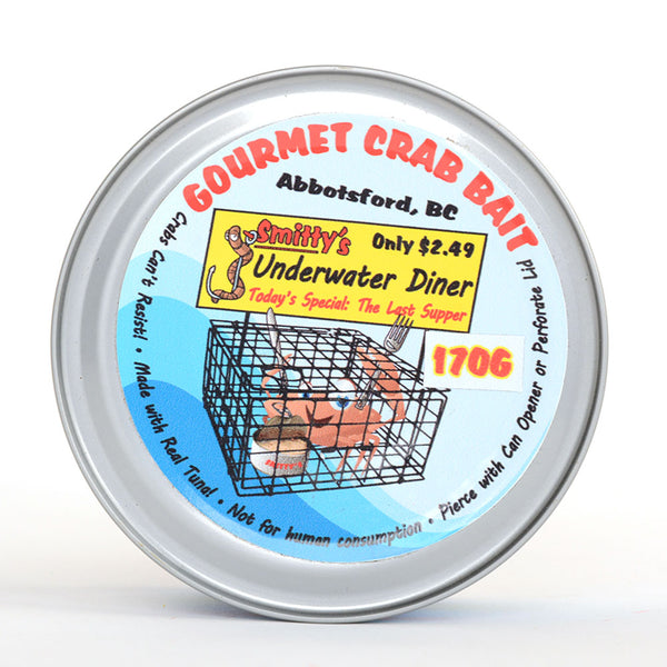 Smitty's Crab Bait in Tin