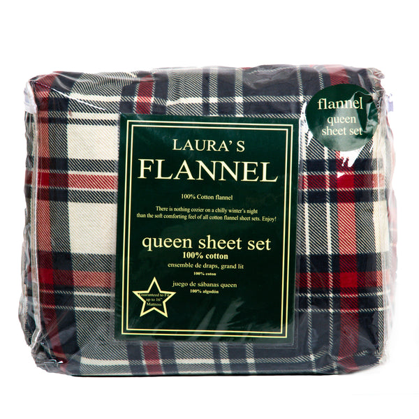 Plaid Flannel Sheets