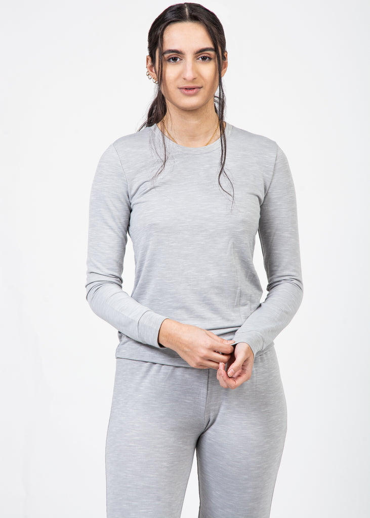 Grey 2-Piece Ultra Soft Loungewear Set