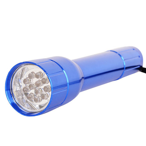 Firefly 12 LED Metal Flashlight