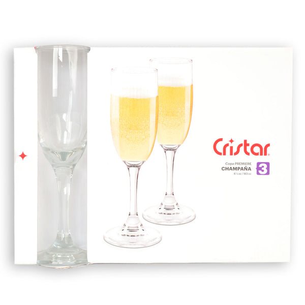 Cristar Goblet Champagne Glass