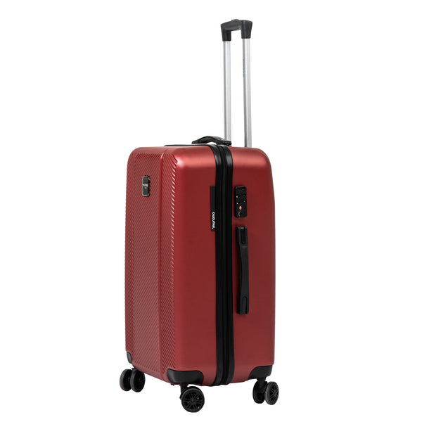 "26"" Red Spinner Luggage"