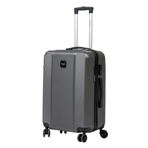 "26""  Grey Spinner Luggage"