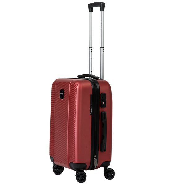 "21"" Red Spinner Luggage"