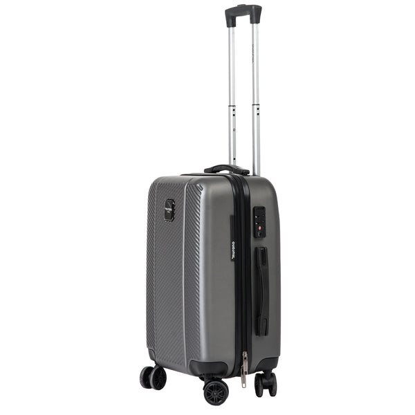 "21"" Grey Spinner Luggage"
