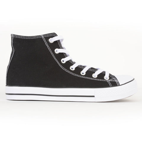 Men's High Top Canvas Sneaker