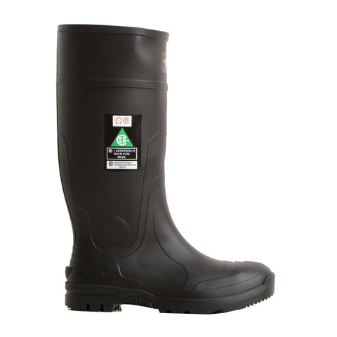Steel Toe & Plate Rubber Boots