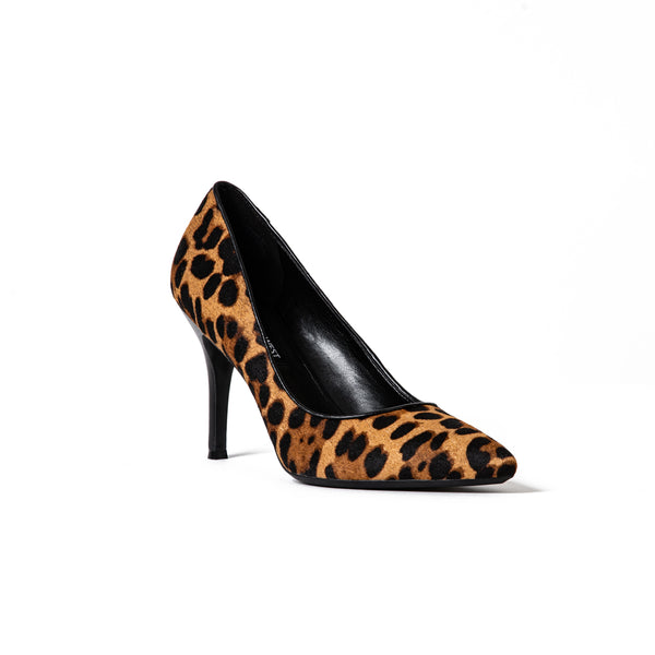 Fifth Leopard Print Heel