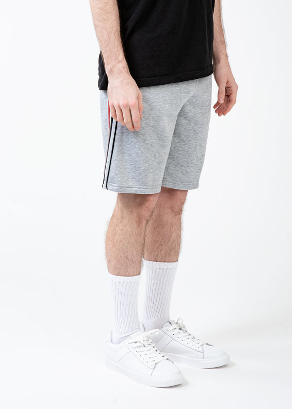 Light Grey Fleece Shorts