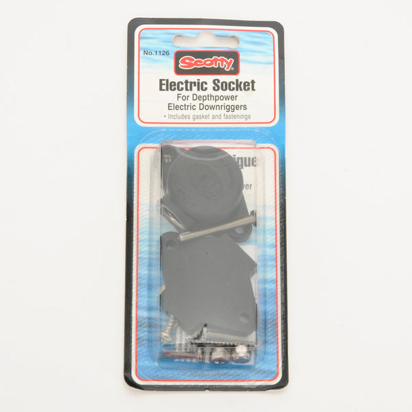Scotty Depthpower Electric Socket (Hella Socket) #1126