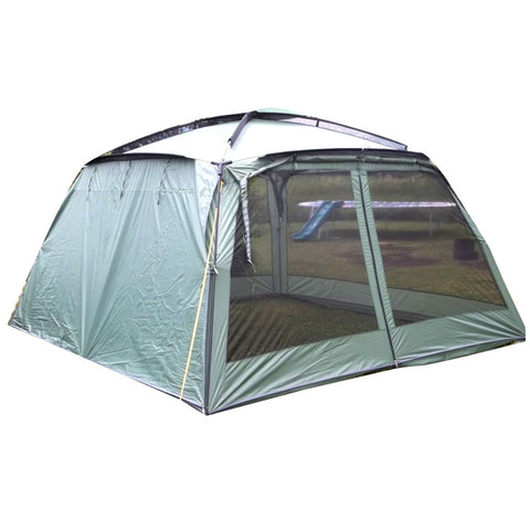 Kuche screen tent army and navy for Camping outdoor kuche