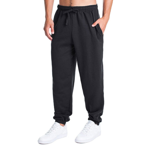 Fleece Factory Basic Fleece Elastic Bottom Pants