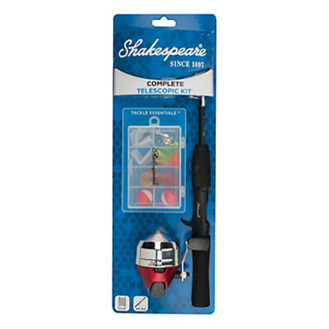 Shakespeare Complete Telescopic Spincast Kit