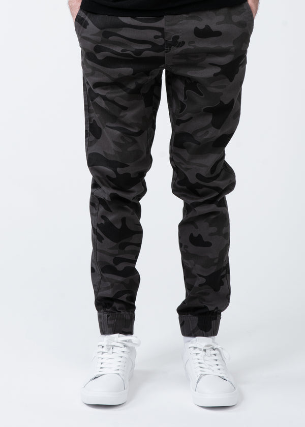Woven Twill Joggers