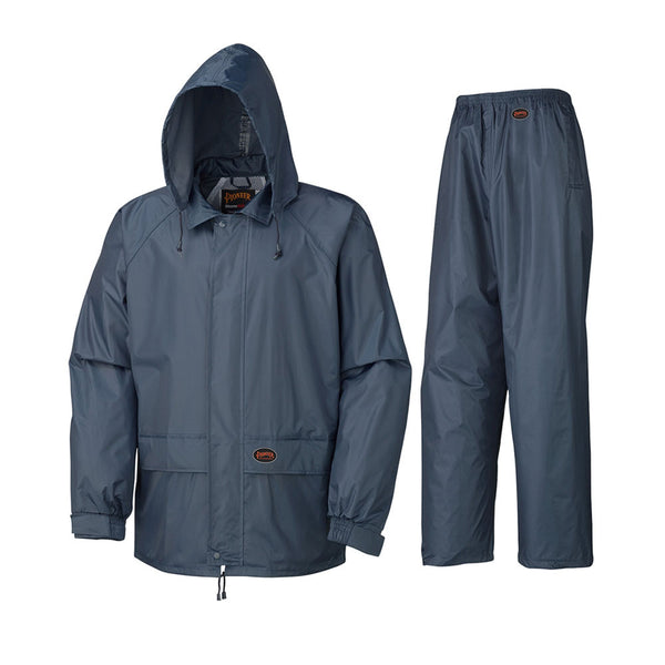 Pioneer Polyester PVC Rain Suit