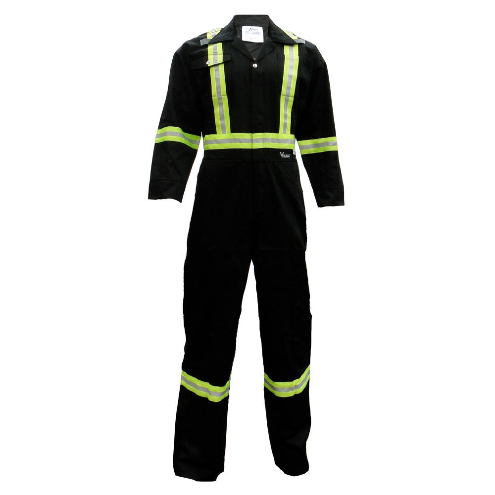 Viking CSA Striped Coverall - Black