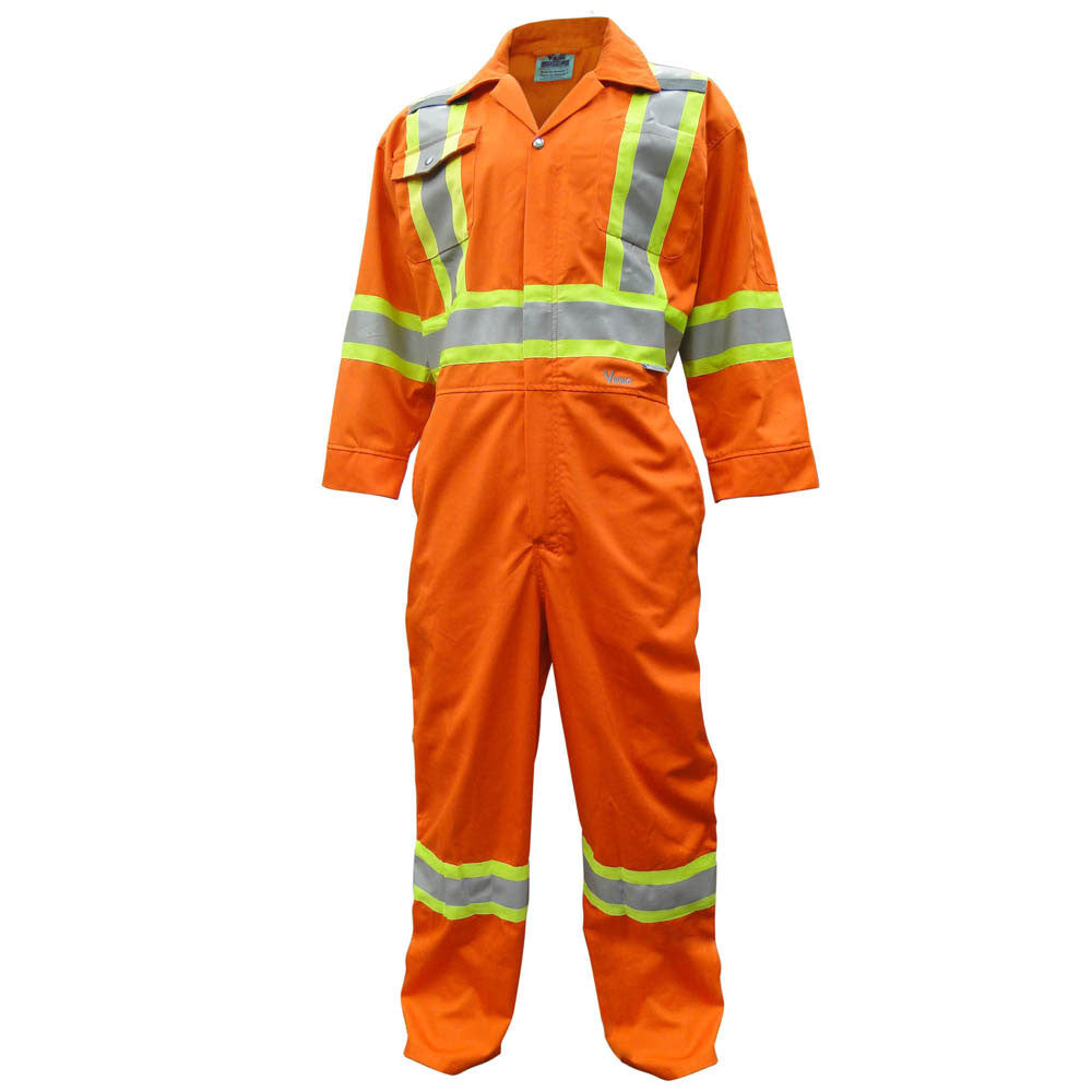 Viking CSA Striped Coverall - Orange