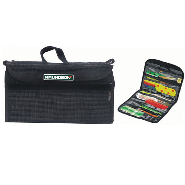 Amundson Rubber Coated Flasher Bag