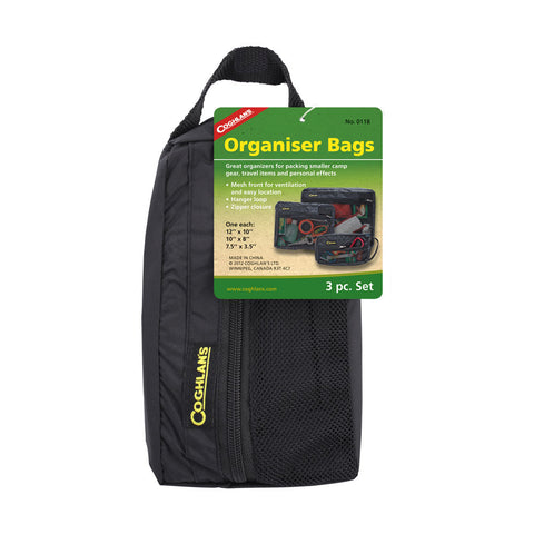 Coghlans 3pc Organizer Bags Set