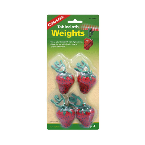 Coghlans 4 Pack Tablecloth Weights