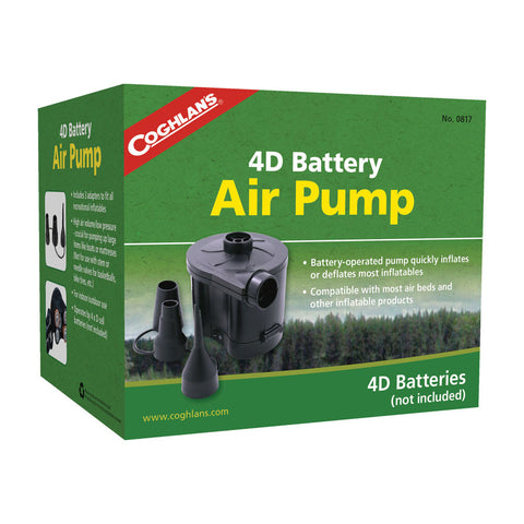 Coghlan's 4D Battery Powered Air Pump